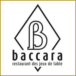 Logo de Le Baccara