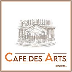 Logo de Café des Arts