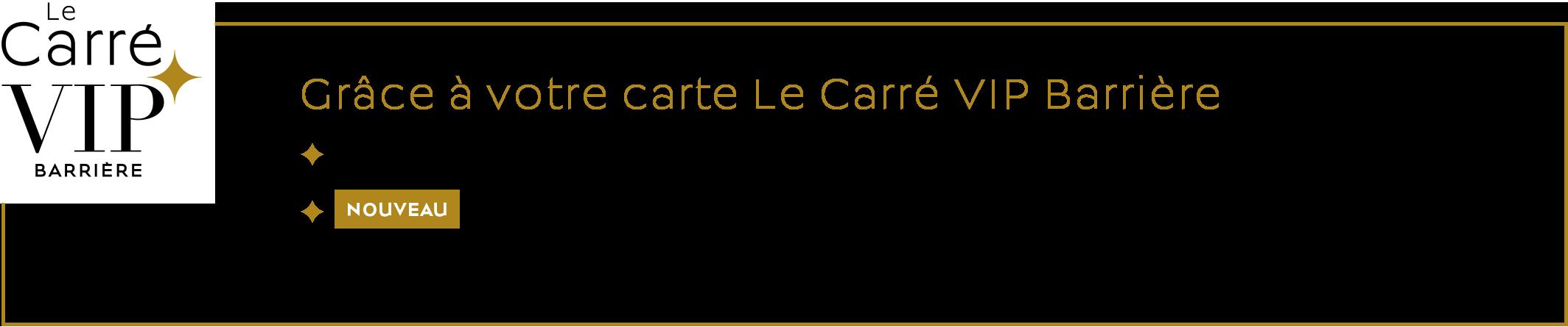 CARRE VIP