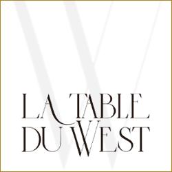 Logo de La Table du West